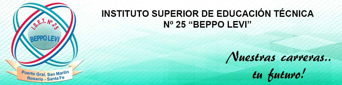 Instituto Superior N° 25 – Beppo Levi